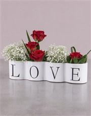 Love Red Rose Arrangement