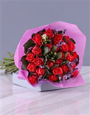 Spectacular Cerise Rose Bouquet