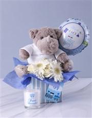 Baby Boy Rhino Hamper