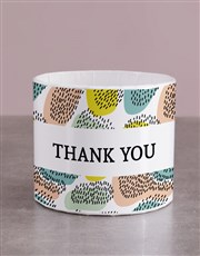 Colour Variety Thank You Hat Box