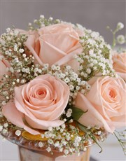 Peach Rose Delicacy