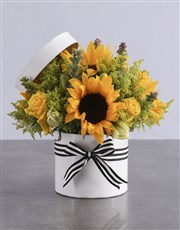 Sunflower and Lily Box