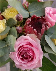 Personalised Birthday Roses Photo Vase