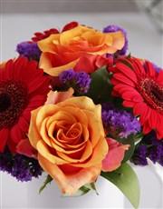 Girls Rose Floral Mug