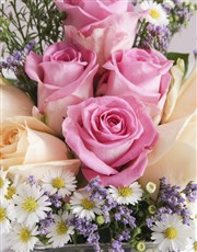 Regal Birthday Roses in a Vase