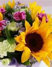 Sunflower Get Well Box