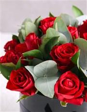 Black Box of Red Roses