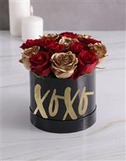 XO Mixed Flowers Hat Box
