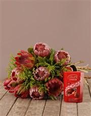 Mixed Protea Present