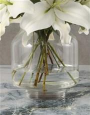 Modern Lily Arrangement