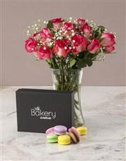 Romantic Pink Rose Arrangement