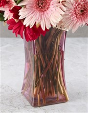 Pristinely Pink Gerbera Arrangement