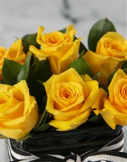 Luxury Sunshine Rose Bouquet