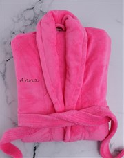 Personalised Pink Gown