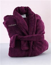 Treat someone special with one of our Purple fleec
