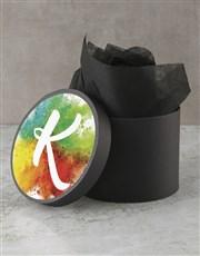 Personalised Monogram Sweet Hat Box
