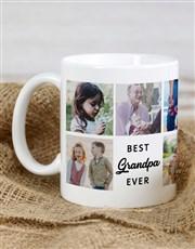 Personalised Best Grandpa Ever Mug