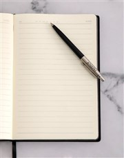 Personalised Parker Jotter Black Pen