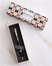Personalised Retro Parker Pen Sleeve Box