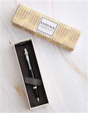 Personalised Glam Parker Pen Sleeve Box