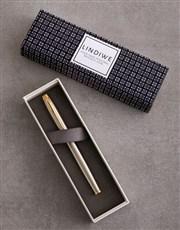 Personalised Block Print Parker Pen Sleeve Box