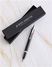 Personalised Parker Pen Timeless Gift Box