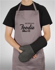 Personalised Foodie Apron
