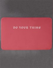 Personalised Do Your Thing Bath Mat