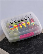 Personalised Ice Cream Lunch Box