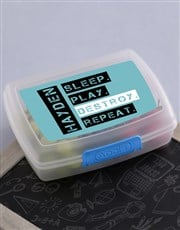 Personalised Destroy Lunch Box