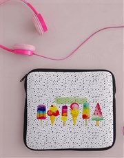 Personalised Ice Cream Tablet Cover