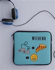Personalised Weekend Tablet Cover