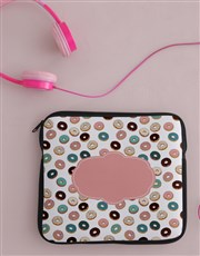 Personalised Donut Tablet Cover