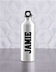 Personalised Do It Waterbottle And T Shirt