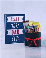Personalised Best Dad Ever Card|