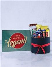 Personalised Legendary Dad Card
