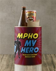 Personalised Super My Hero Bro Bucket