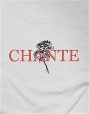 Personalised Rose Graphic Ladies T Shirt