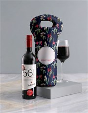 Personalised Wine Time Wine Carrier