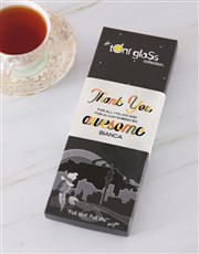 Personalised Awesome Thank You Toni Tea Set