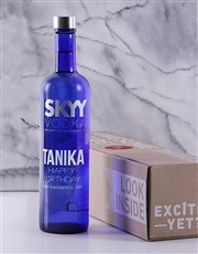 Personalised SKYY Vodka