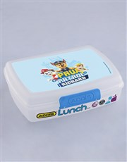 Personalised Paw Patrol Pups Lunchbox
