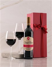 Personalised Love You Red Giftbox