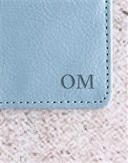 Personalised Blue Card Holder