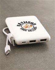 Personalised Boxing Romoss Power Bank
