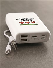 Personalised Power Up Romoss Power Bank