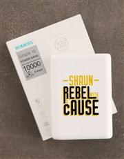 Personalised Rebel Romoss Power Bank