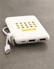 Personalised Emoji Romoss Power Bank