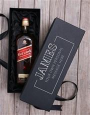 Personalised Johnnie Walker Wine Giftbox