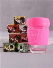Personalised Girl You Got This Travel Mug